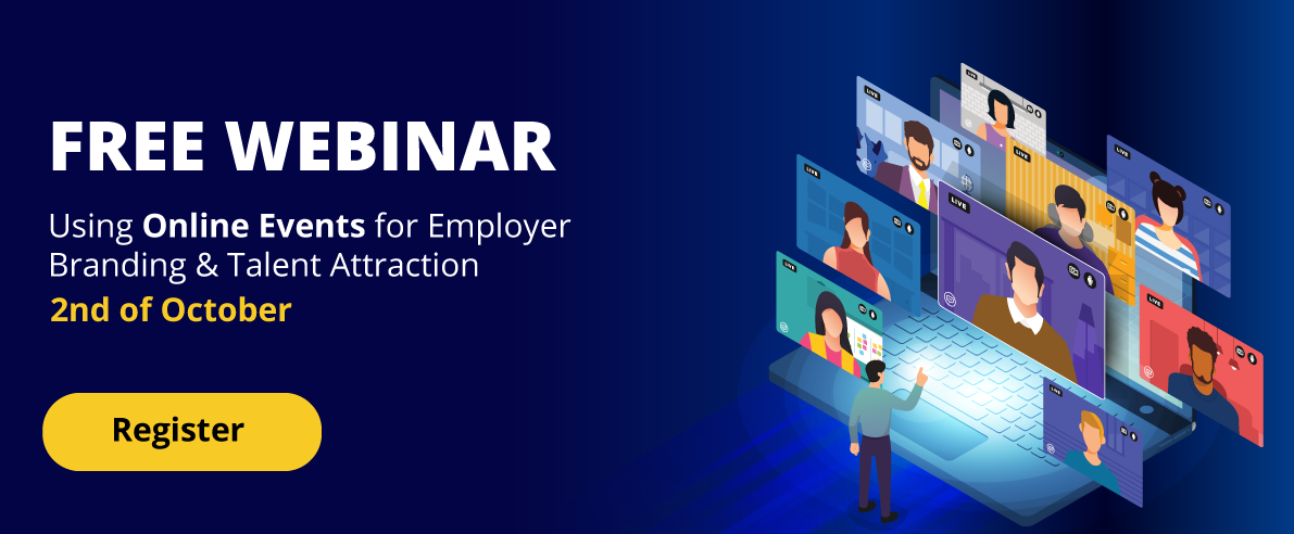 Using Online Events for Employer Branding & Talent Attraction