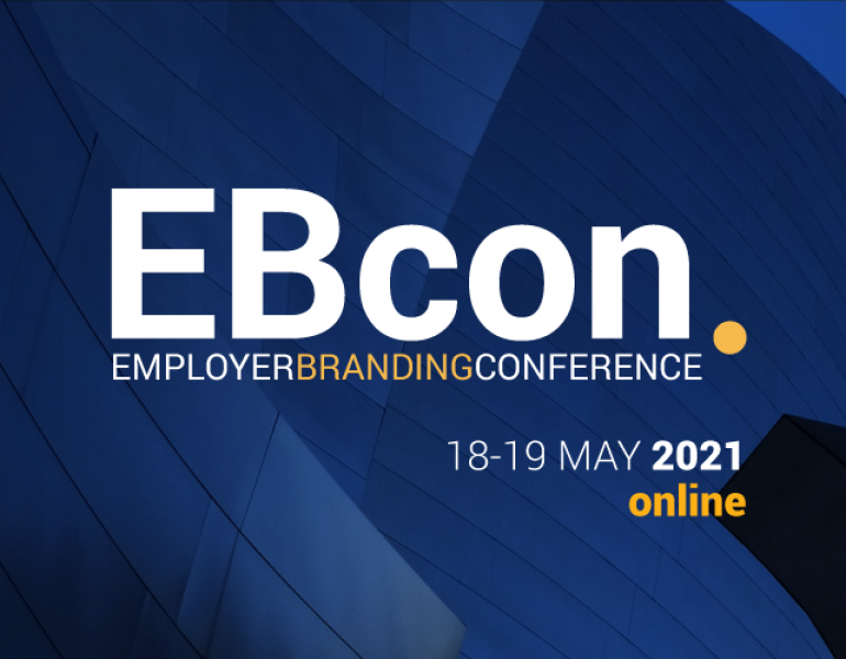 Brace yourself for the Big Gathering of Forces in Employer Branding. Join EBcon2021 online to reconnect with international EB community!