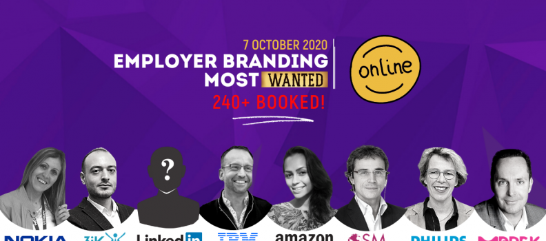 Employer Branding Most Wanted 2020 Conference. Join online on 7th of October