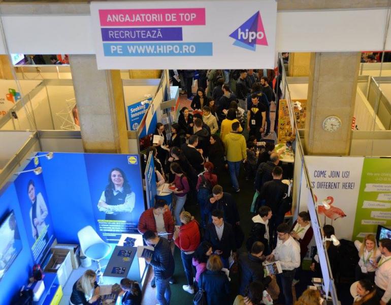 180 de companii participa la targul de joburi Angajatori de TOP.
